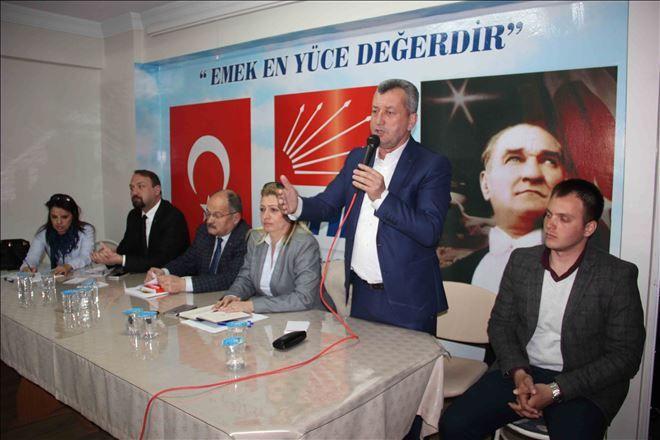 CHP Referandum Çalışmalarına Başladı