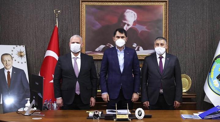 Bakan Murat Kurum, Menemen'i Ziyaret Etti