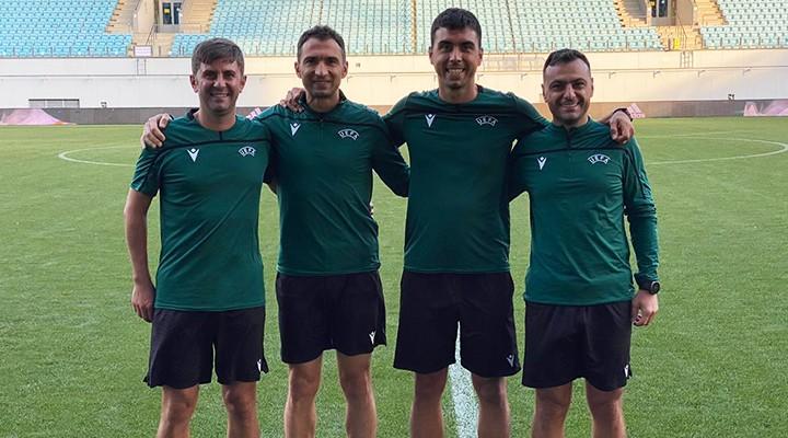 Cevdet Kömürcüoğlu'na UEFA Avrupa 21 Yaş Altı Futbol Şampiyonası'nda görev
