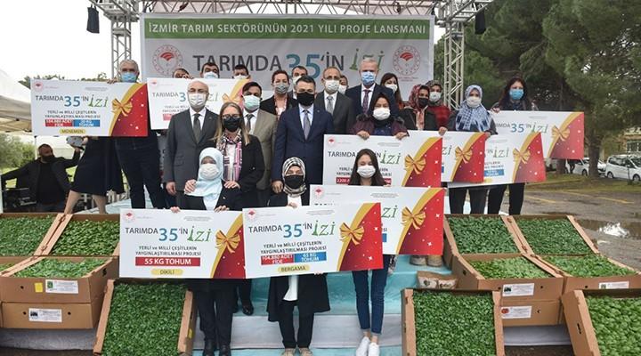 İzmir'de hayata geçirecekleri 35 projeyi açıkladı