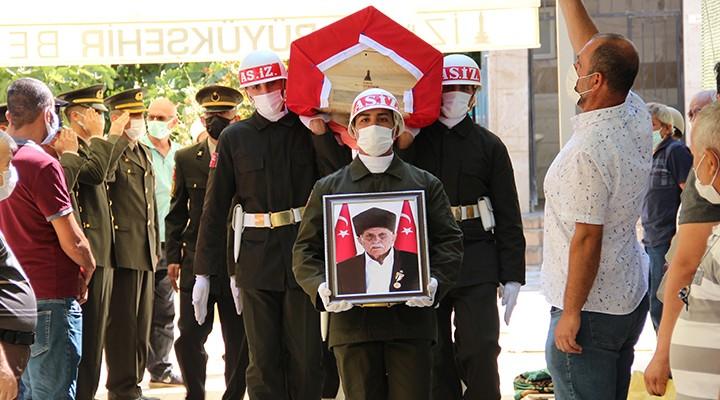 Kore Gazisi Son Yolculuğa Uğurlandı