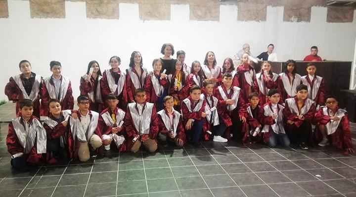 Kubilay 4/F Sınıfı Öğrencilerinin Mezuniyet Gecesi