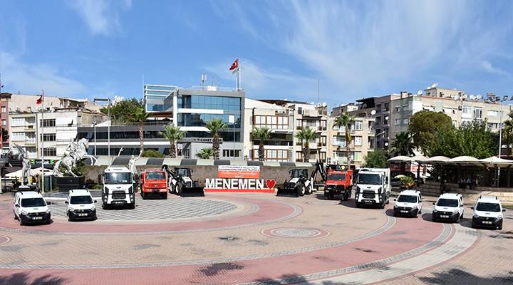 Menemen Belediyesi'nin araç filosu yenileniyor