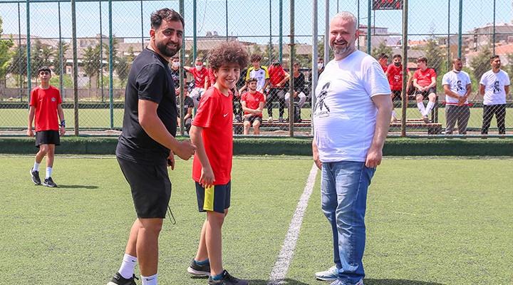 Menemen'de spor dolu yaz