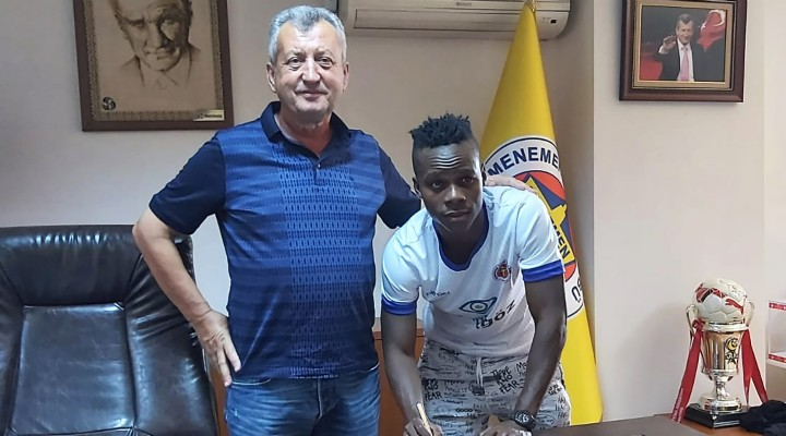 Menemenspor Ibrahim Alhassan Adamu'yu transfer etti