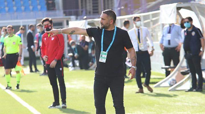 Menemenspor Teknik Direktörü Ümit Karan'dan Mesaj Var