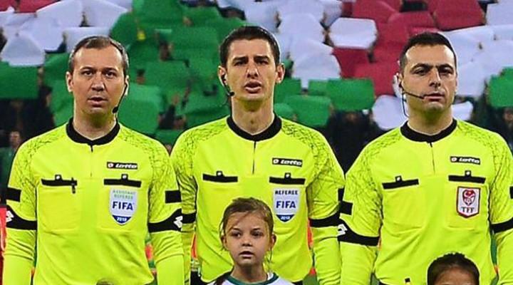UEFA'dan Cevdet Kömürcüoğlu'na Manchester City Maçında Görev